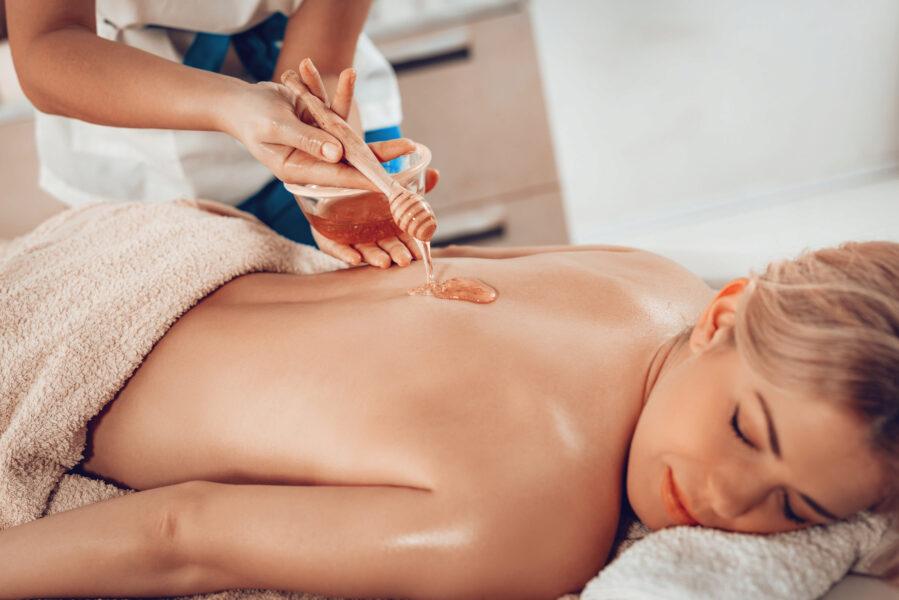 Wellness-Honig Massage
