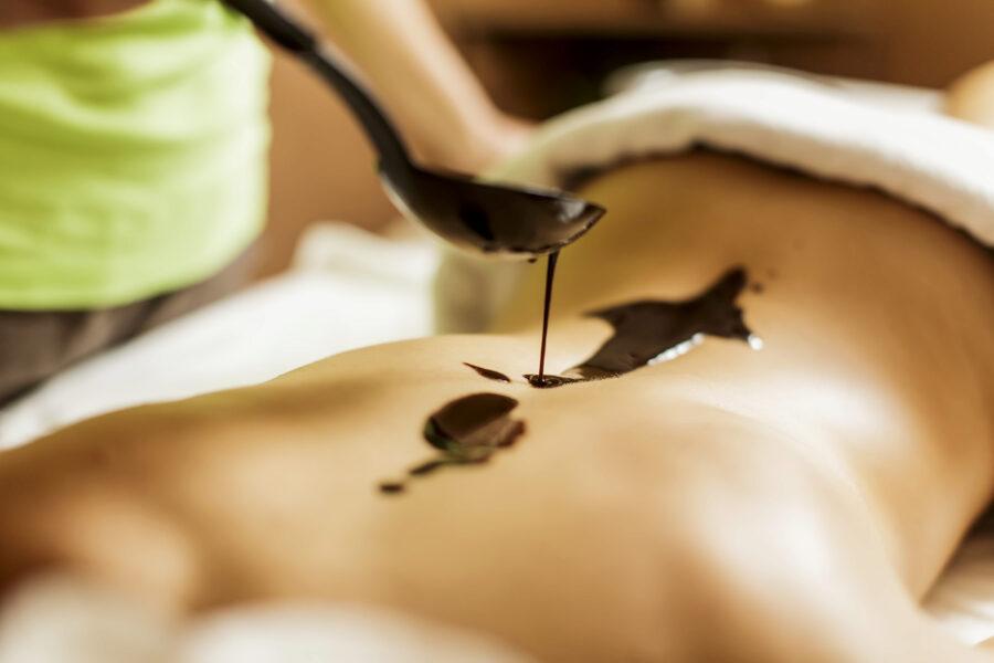 Wellness-Schokoladen Massage
