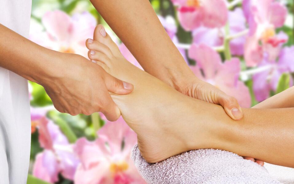Wellness-Fußmassage