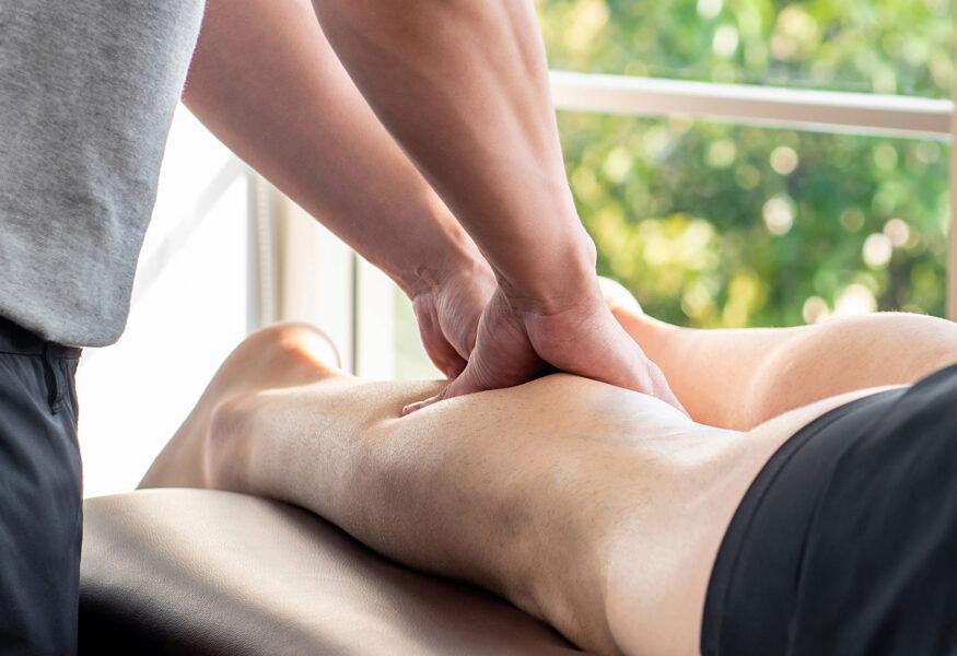 Sportmassage regenerativ - Bein